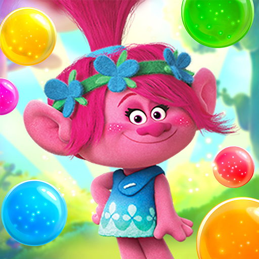 DreamWorks Trolls Pop: Bubble Shooter & Collection  3.6.1 (Unlimited money,Mod) for Android