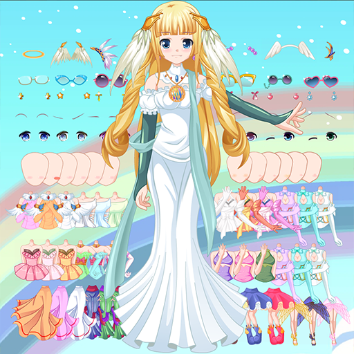 Dress Up Angel Avatar Anime Games  (Unlimited money,Mod) for Android 5.0.643