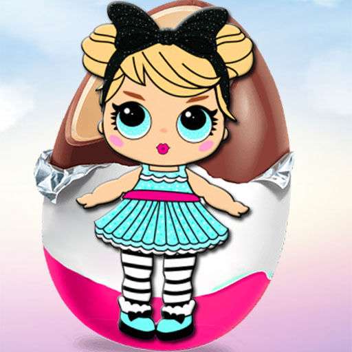 Egg games, joy surprise dolls & toys. Opening eggs 3.0 (Unlimited money,Mod) for Android