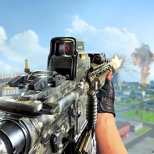 fps shooting games : commando offline gun games  2.0.5 (Unlimited money,Mod) for Android
