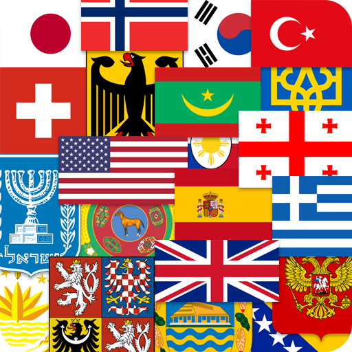 Flags of the World & Emblems of Countries: Quiz  (Unlimited money,Mod) for Android 2.16