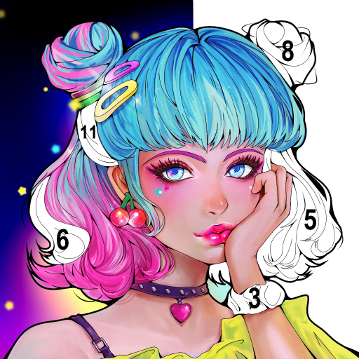 Sweet Coloring Color by Number Painting Game  1.0.19 (Unlimited money,Mod) for Android