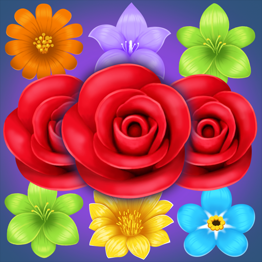 Flower Match Puzzle 1.2.2 (Unlimited money,Mod) for Android