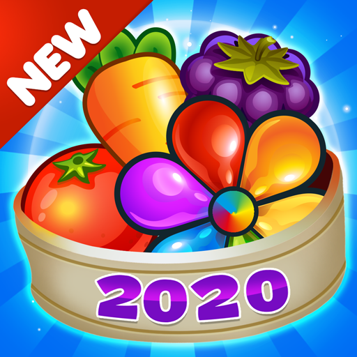 Garden Blast New 2020! Match 3 in a Row Games Free 2.1.4 (Unlimited money,Mod) for Android