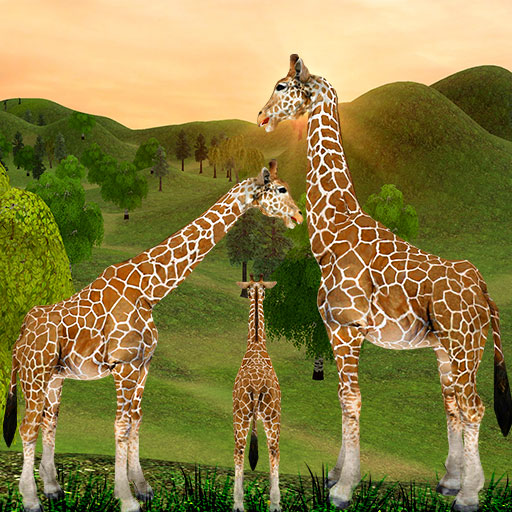Giraffe Family Life Jungle Simulator  (Unlimited money,Mod) for 4.6