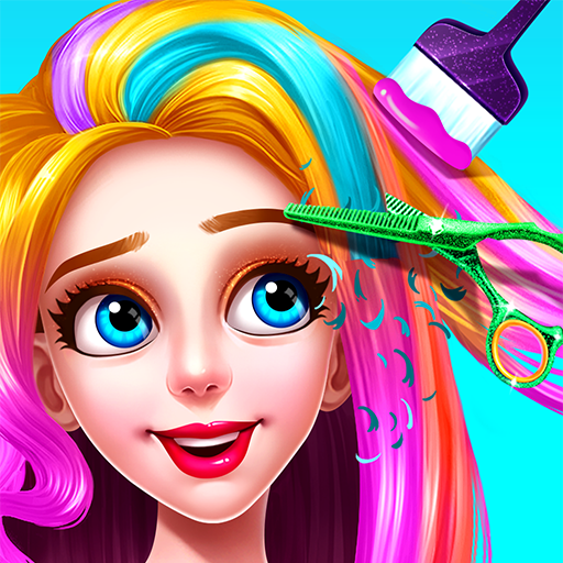 💇💇Girls Hair Salon  3.1.5052 (Unlimited money,Mod) for Android