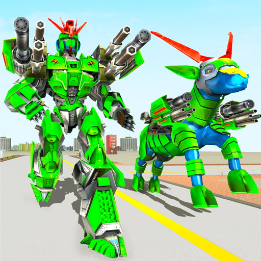 Goat Robot Transforming Games: ATV Bike Robot Game  (Unlimited money,Mod) for Android 1.5