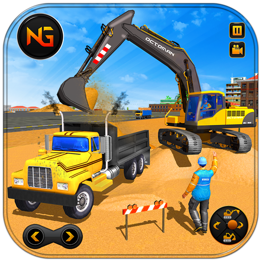 Heavy Excavator Crane Game Construction Sim 2019 (Unlimited money,Mod) for Android 1.0.8