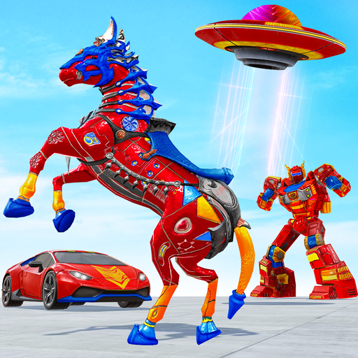 Horse Robot Car Game – Space Robot Transform wars  (Unlimited money,Mod) for Android 1.1.1