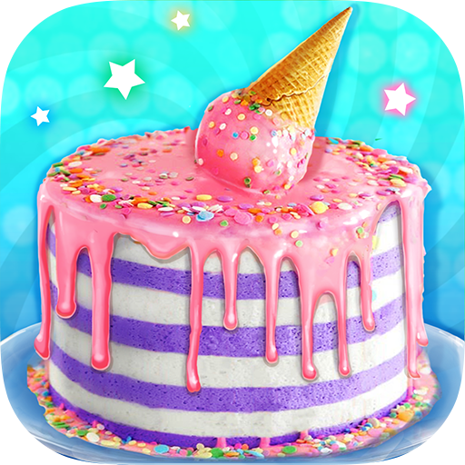 Ice Cream Cone Cake – Sweet Trendy Desserts  (Unlimited money,Mod) for Android 1.2