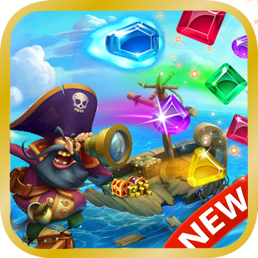Jewel Pirates – Match 3  (Unlimited money,Mod) for Android 1.6.01