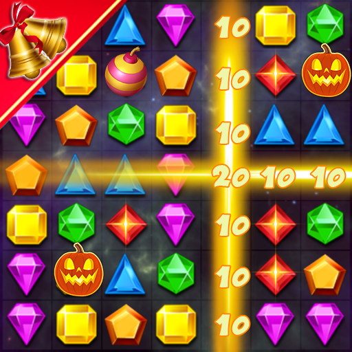 Jewels Classic – Match 3 1.8.01  (Unlimited money,Mod) for Android