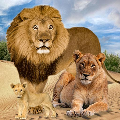 Jungle Kings Kingdom Lion Family  (Unlimited money,Mod) for Android 2.7