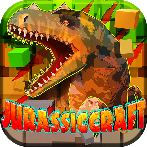JurassicCraft: Free Block Build & Survival Craft  (Unlimited money,Mod) for Android 5.1.2