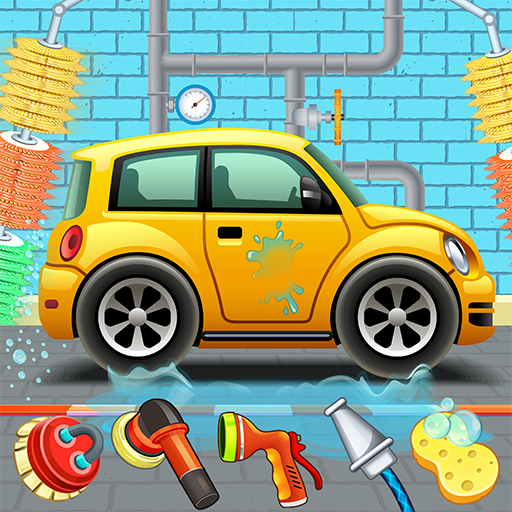 Kids Car Wash Service Auto Workshop Garage  2.8 (Unlimited money,Mod) for Android