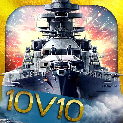King of Warship: 10v10 Naval Battle  (Unlimited money,Mod) for Android 5.8.1