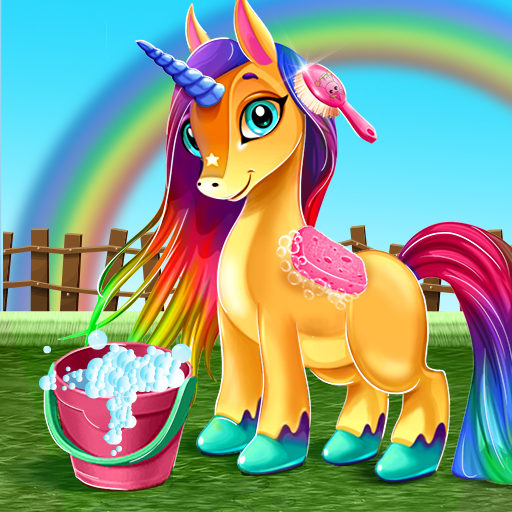 Little Unicorn Care Baby Pony Pet  (Unlimited money,Mod) for A 0.6