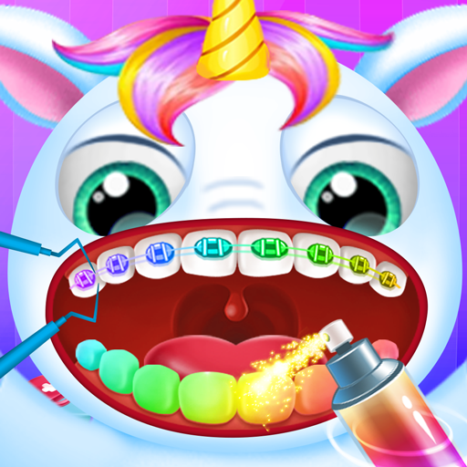 Little Unicorn Pet Doctor Dentist 6 (Unlimited money,Mod) for Android