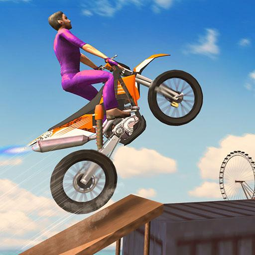 London City Motorbike Stunt Riding Simulator  (Unlimited money,Mod) for Android 1.2