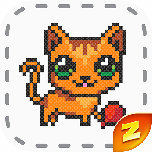 Magic Cross Stitch: Color Pixel Art  (Unlimited money,Mod) for Android 2.9.1