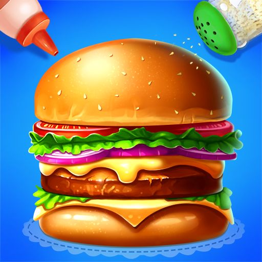 🍔🍔Make Hamburger – Yummy Kitchen Cooking Game  (Unlimited money,Mod) for Android 3.6.5026
