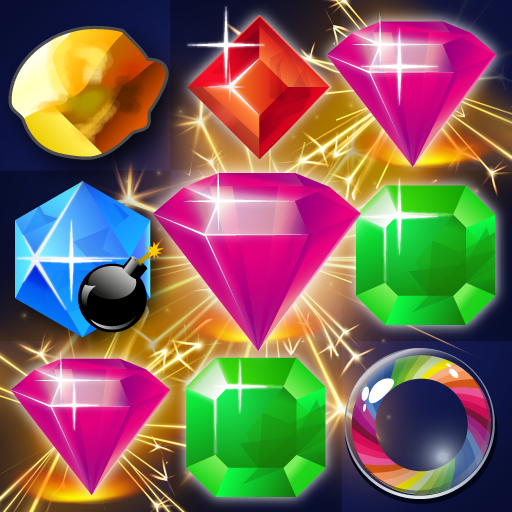 Match 3 Jewels  1.35 (Unlimited money,Mod) for Android