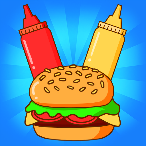 Merge Burger: Food Evolution Cooking Merger  (Unlimited money,Mod) for Android 2.0.17