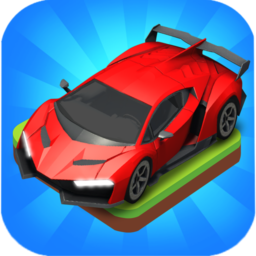 Merge Car game free idle tycoon  1.2.22 (Unlimited money,Mod) for Android