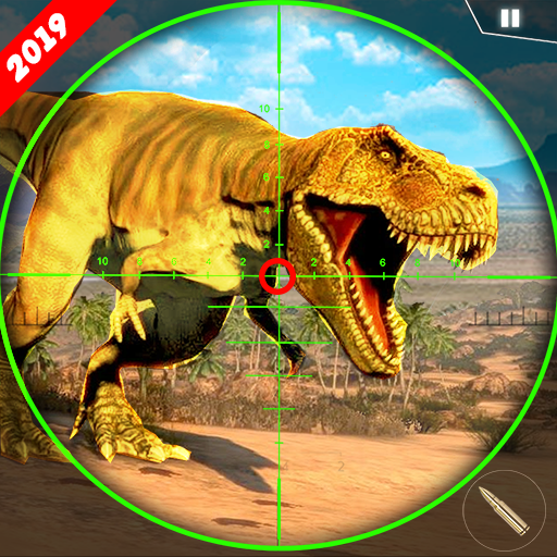 Monster Dino Attack FPS Sniper Shooter  (Unlimited money,Mod) for Android 2.0