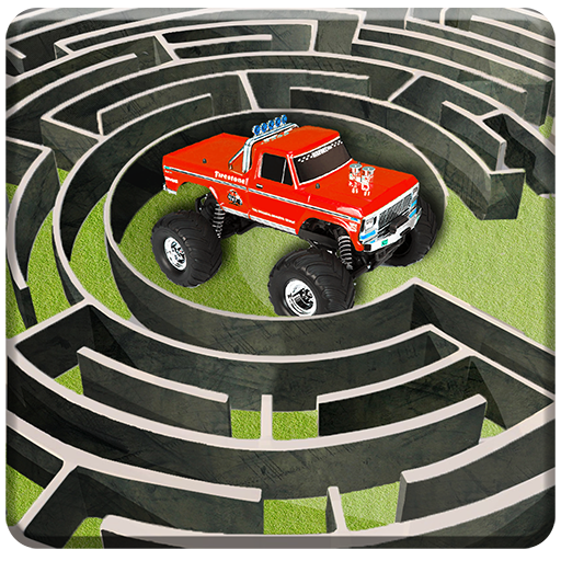 Monster Truck Maze Driving 2020: 3D RC Truck Games  (Unlimited money,Mod) for 2.2