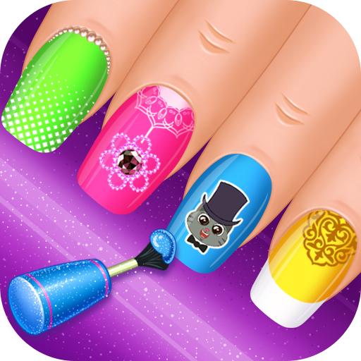 Nail Salon : princess  (Unlimited money,Mod) for Android 1.0.9