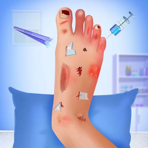 Nail Surgery Foot Doctor – Offline Surgeon Games  (Unlimited money,Mod) for Android 4.0