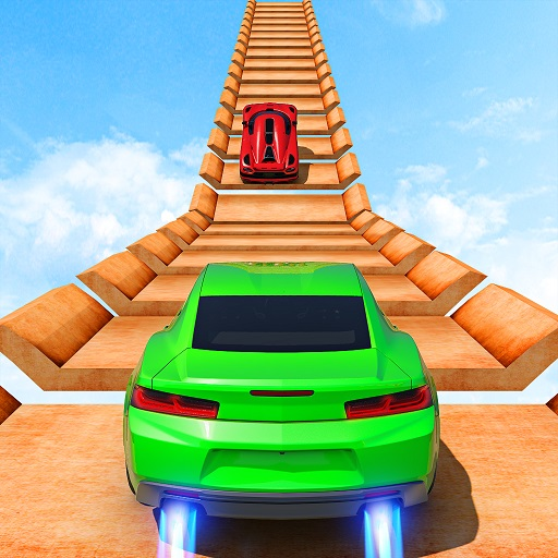 New Mega Ramp Crazy Car Stunts Games 1.0.38 (Unlimited money,Mod) for Android