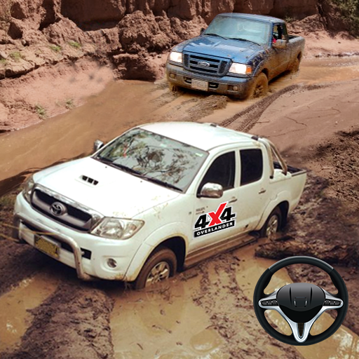 Offroad Pickup Truck Cargo Duty:Uphill Driving Sim  (Unlimited money,Mod) for Android 1.0