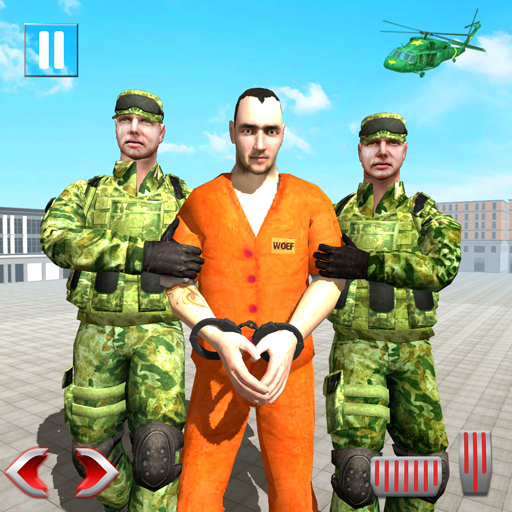 Offroad US Army Prisoner Transport: Criminal Games  (Unlimited money,Mod) for Android 1.24