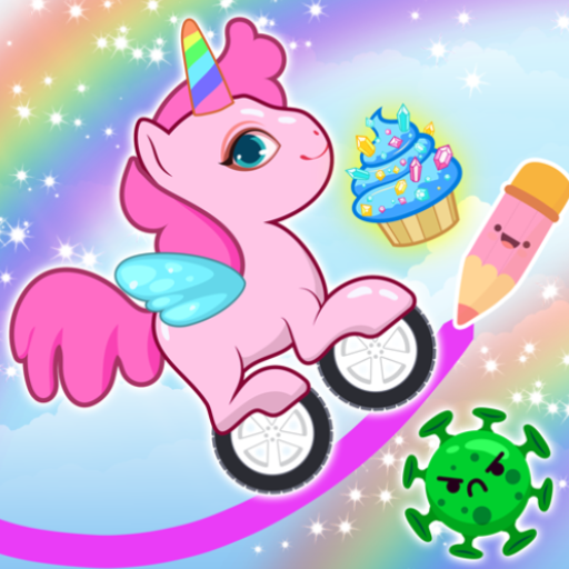 Pony Go : Drawing Race – Rainbow Paint Lines  (Unlimited money,Mod) for Android 1.1.3