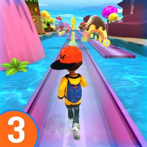 RUN RUN 3D 3 – Hyper Water Surfer Endless Race 501.5.0(Unlimited money,Mod) for Android