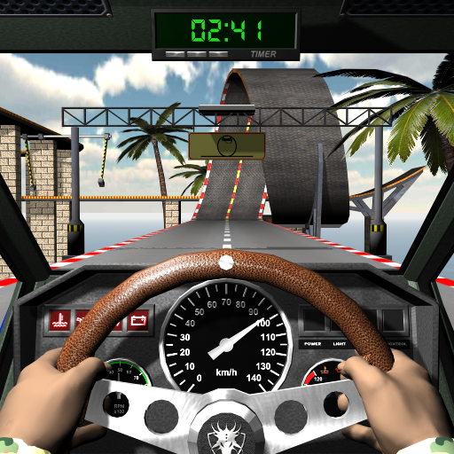 Racing stunts by car. Extreme driving 3.8 (Unlimited money,Mod) for Android