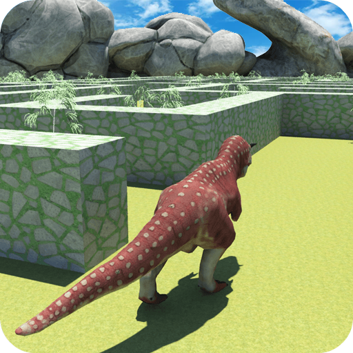 Real Dinosaur Maze Runner Simulator 2021 6.6 (Unlimited money,Mod) for Android