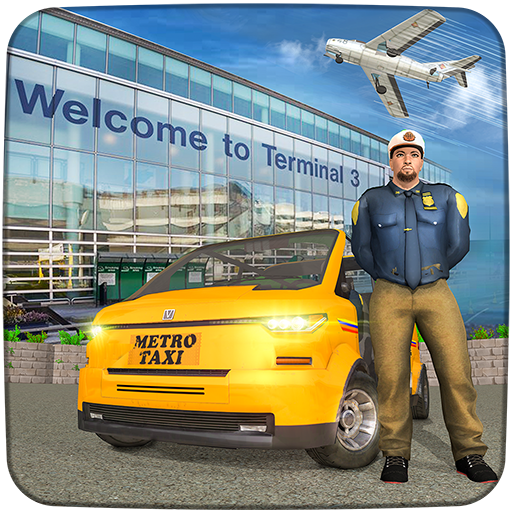 Real Taxi Airport City Driving-New car games 2020  (Unlimited money,Mod) for Android 1.8
