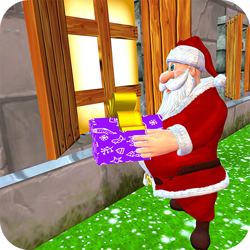 Santa Christmas Infinite Track  (Unlimited money,Mod) for Android 2.6.0