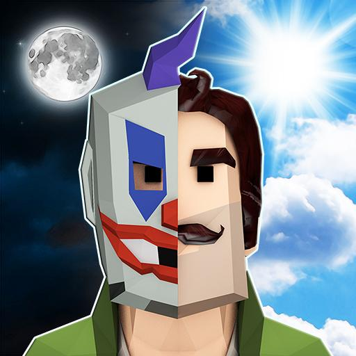 Scary Clown Man Neighbor. Seek & Escape  (Unlimited money,Mod) for Android 1.14