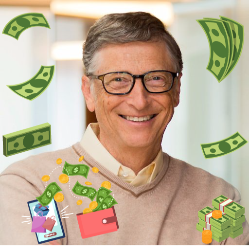 Spend Bill Gates Money  (Unlimited money,Mod) for Android 0.4