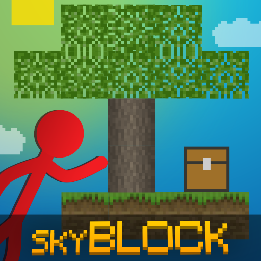Stickman vs Multicraft: Skyblock Craft  1.1.2 (Unlimited money,Mod) for Android