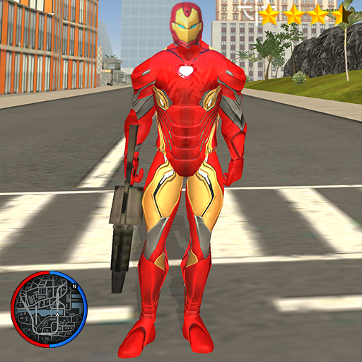 Super Iron Rope Hero – Vegas Fighting Crime 5.0.4 (Unlimited money,Mod) for Android