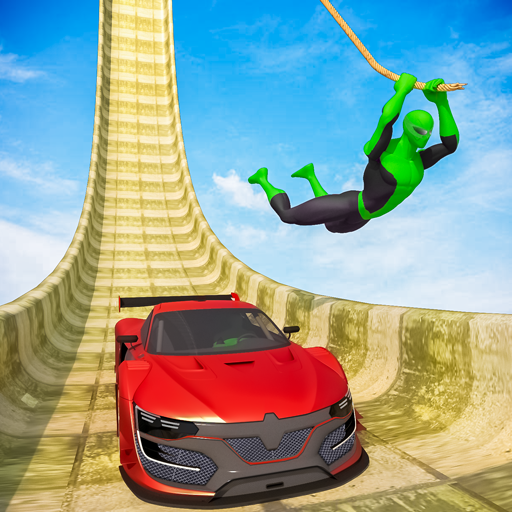 Superhero Mega Ramps: GT Racing Car Stunts Game  1.19 (Unlimited money,Mod) for Android