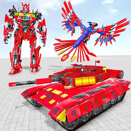 Tank Robot Game 2020 – Police Eagle Robot Car Game 1.1.4 (Unlimited money,Mod) for Android