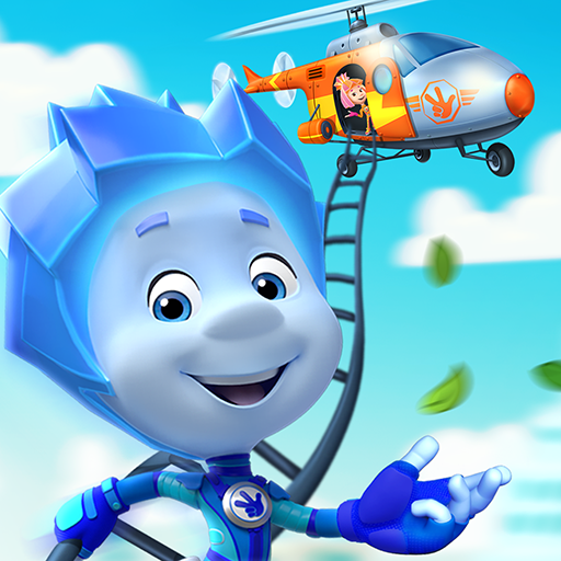 The Fixies Helicopter Game! Fiksiki Fixing Games!  (Unlimited money,Mod) for Android 1.6.1