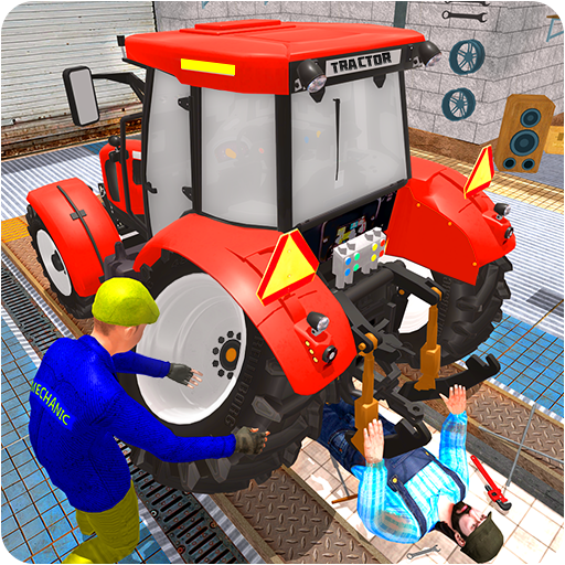 Tractor Mechanic Simulator 19  (Unlimited money,Mod) for Android 3.9.7.6