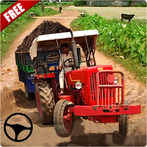 Tractor Trolley: Offroad Driving Tractor Trolley  (Unlimited money,Mod) for Android 1.6